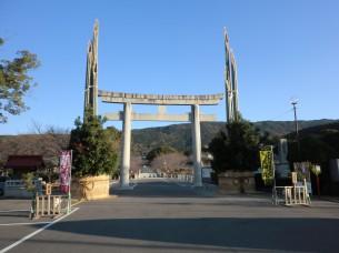 橘神社の大門松