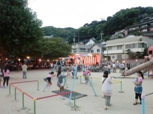 夏祭りふれあい広場1