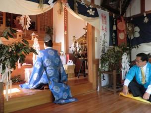 西泊天満神社「秋季大祭」