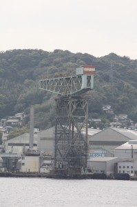 ハンマーヘッドクレーン(三菱長崎造船所)