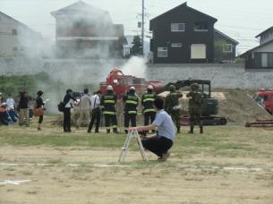 長崎市平成25年度総合防災訓練1
