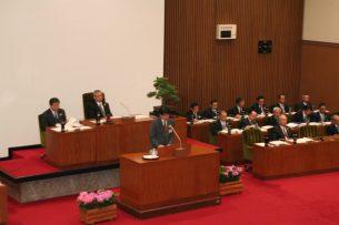 長崎市議会(開会)