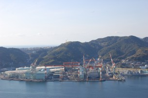 基幹製造業の三菱長崎造船所