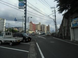 2013.7.23 三芳町付近(西郷橋)の交差点