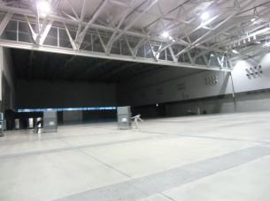 2014.1.30 朱鷺メッセ(1万人収容の展示ホール)
