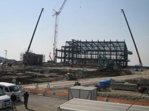 2015.3.25 新西工場建設進む