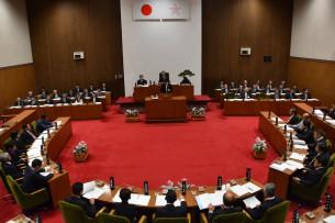 2015.9.1 9月議会開会(本会議)