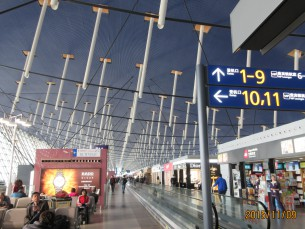 2015.11.9 上海(浦東空港)乗り継ぎ